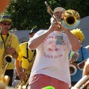 Fanfare Prise de bec à Questembert, juillet 2010