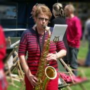 Sophie, saxophone alto - Fanfare Prise de bec