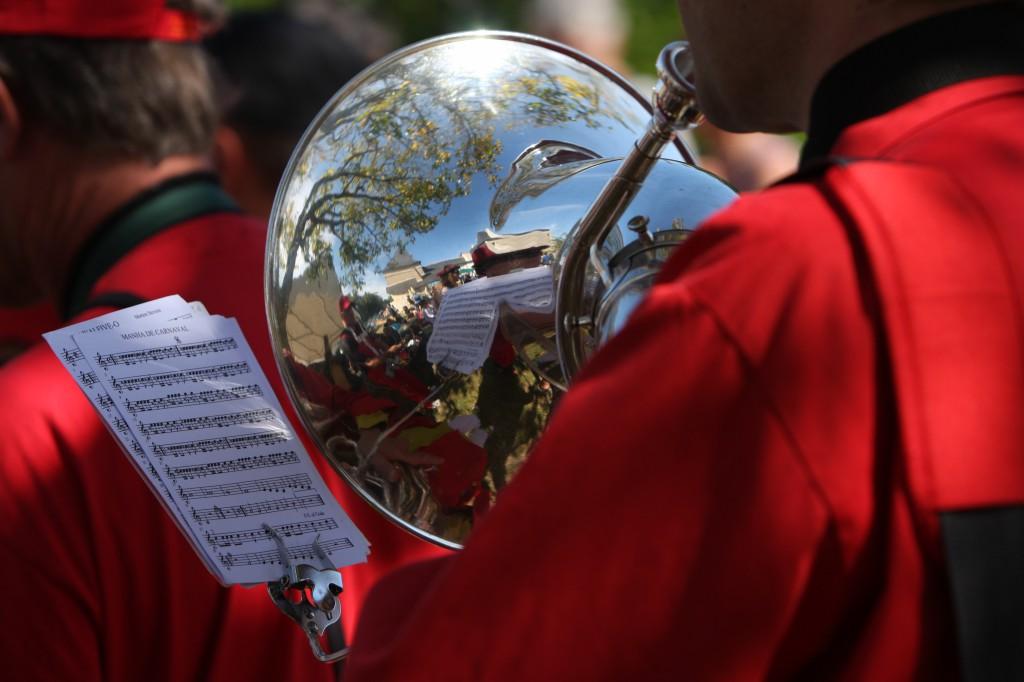 Fanfare Prise de bec à Saffré, septembre 2012 - Photographie Alain Le Maguéresse